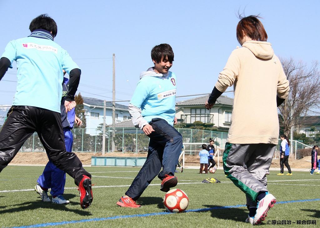 ママさんサッカーフェスティバル
