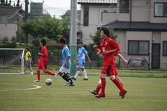 練習試合(撮影:Midori)